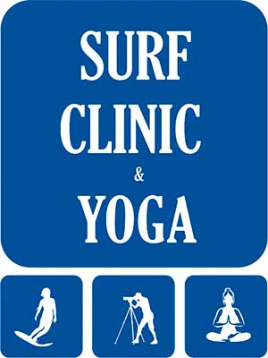 Logotipo Surf Clinic & Yoga