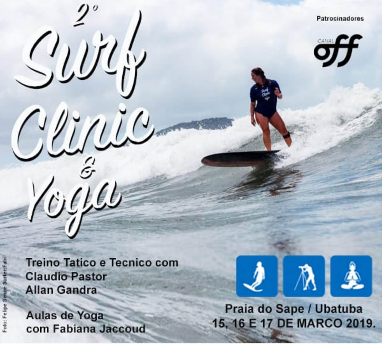2 Surf Clinic e Yoga